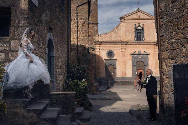 destination wedding civita di bagnoregio