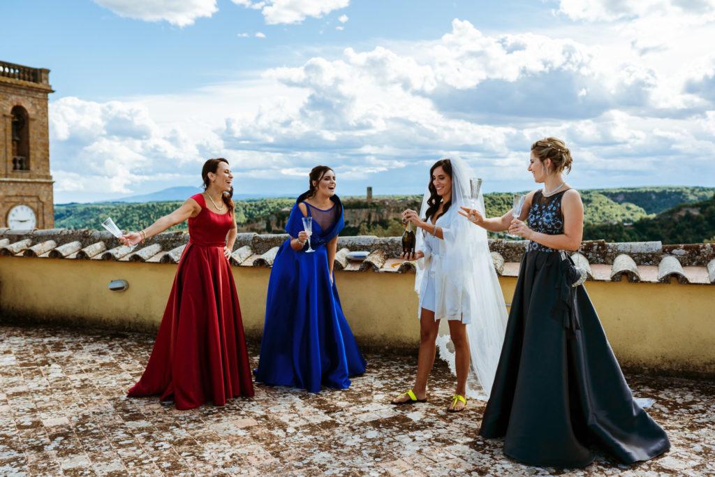 destination wedding in civita di Bagnoregio Lazio Viterbo