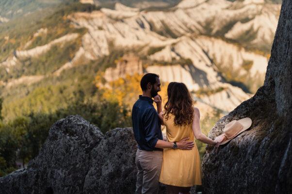 Engagement in Civita di Bagnoregio