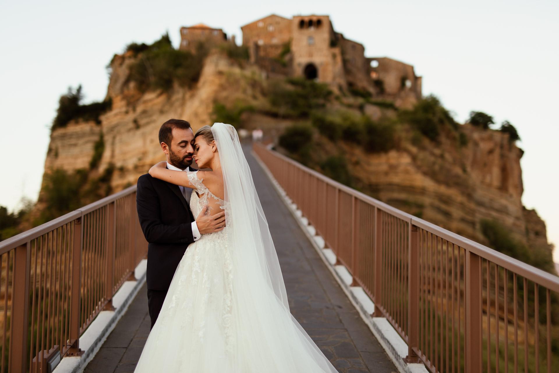 Luxury Wedding Palazzo Monaldeschi, Civita di Bagnoregio